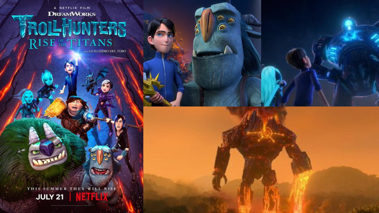 An action-packed trailer for Trollhunters: Rise of the Titans