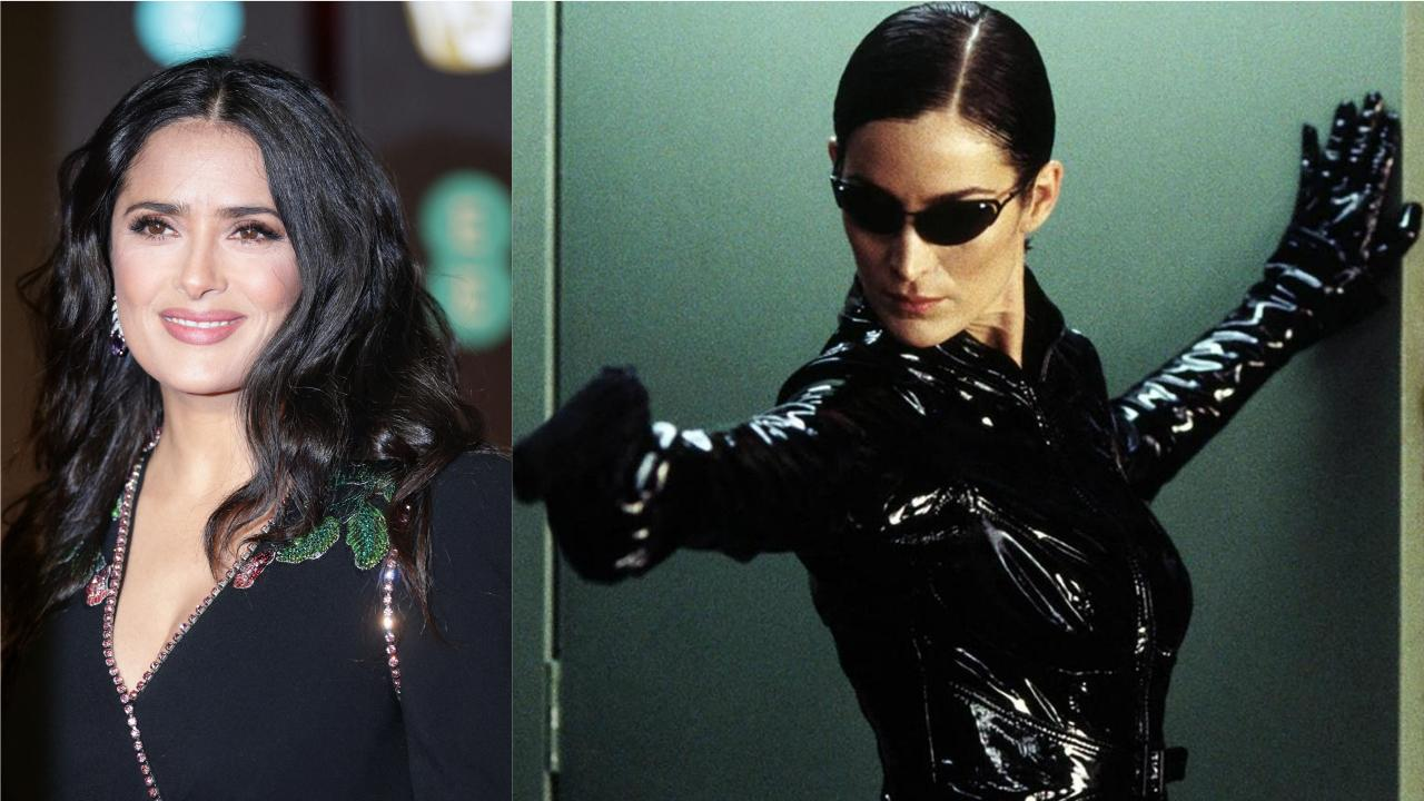 Salma Hayek opens up about her failed audition for the first Matrix