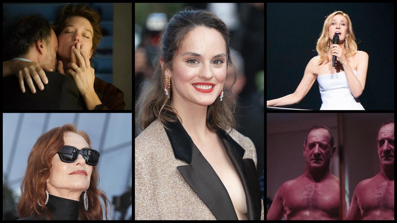 Today in Cannes: Titane, Asghar Farhadi, Aline, Noémie Merlant, Isabelle Huppert ...