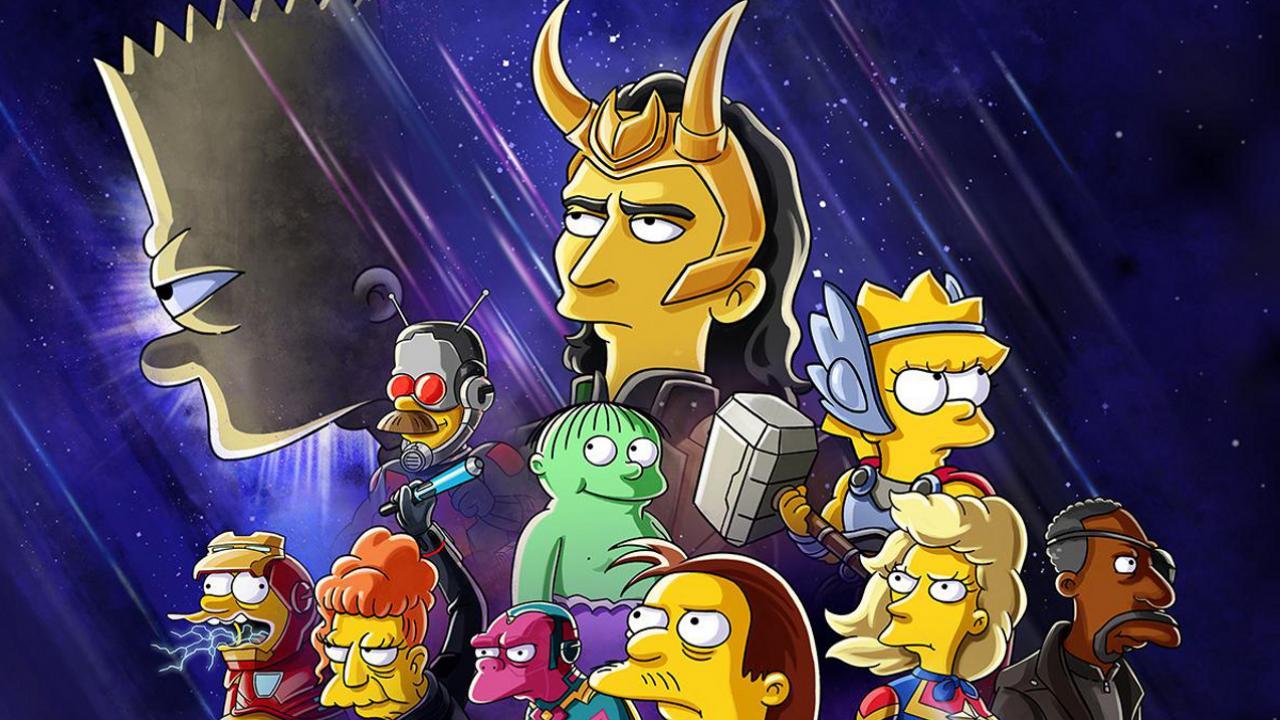 Simpson loki marvel