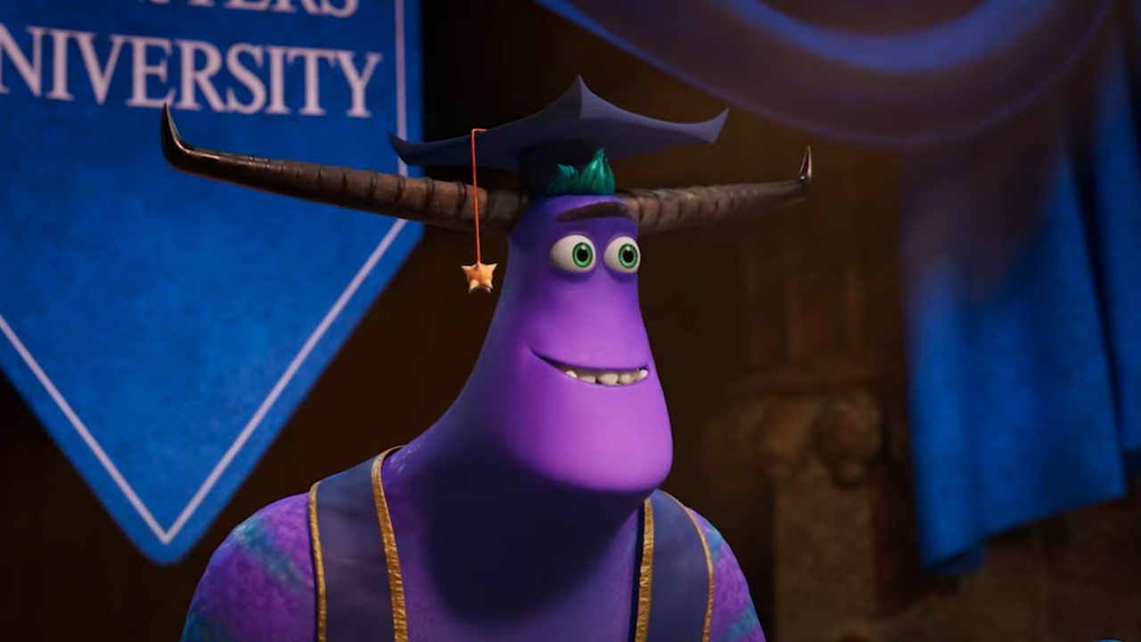 Monsters, Inc. at Work graduation ceremony