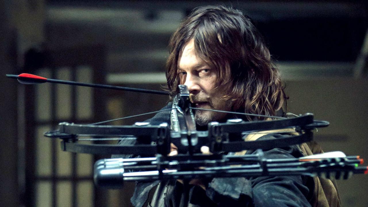 The Walking Dead Daryl crossbow