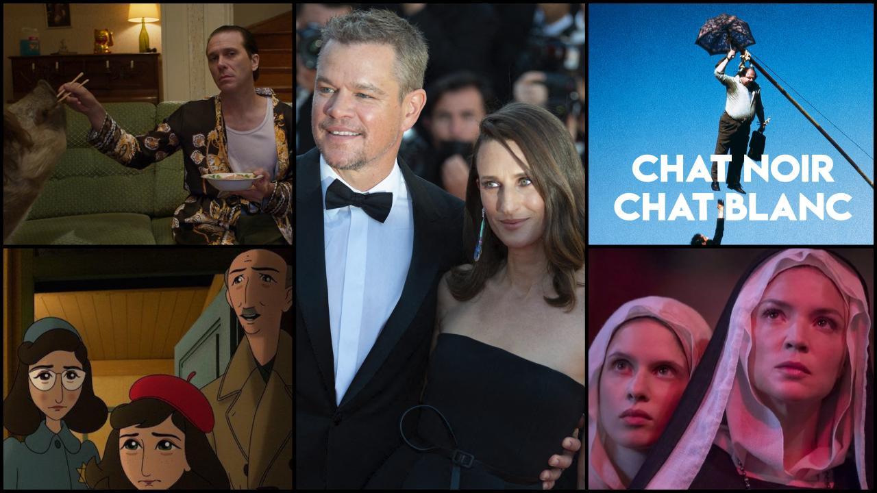 Today in Cannes: Benedetta, Matt Damon, Where's Anne Frank?, Emir Kusturica ...