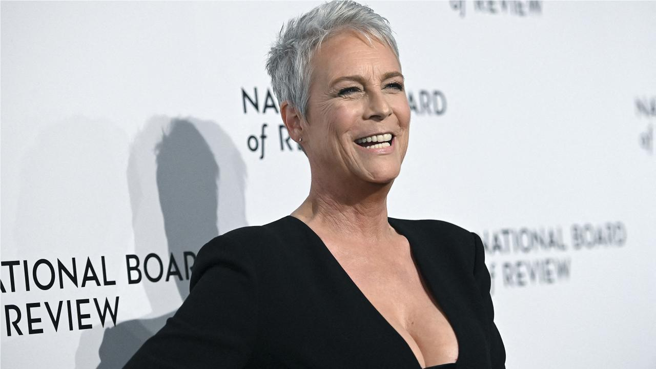 Jamie Lee Curtis honored at the 2021 Venice Film Festival