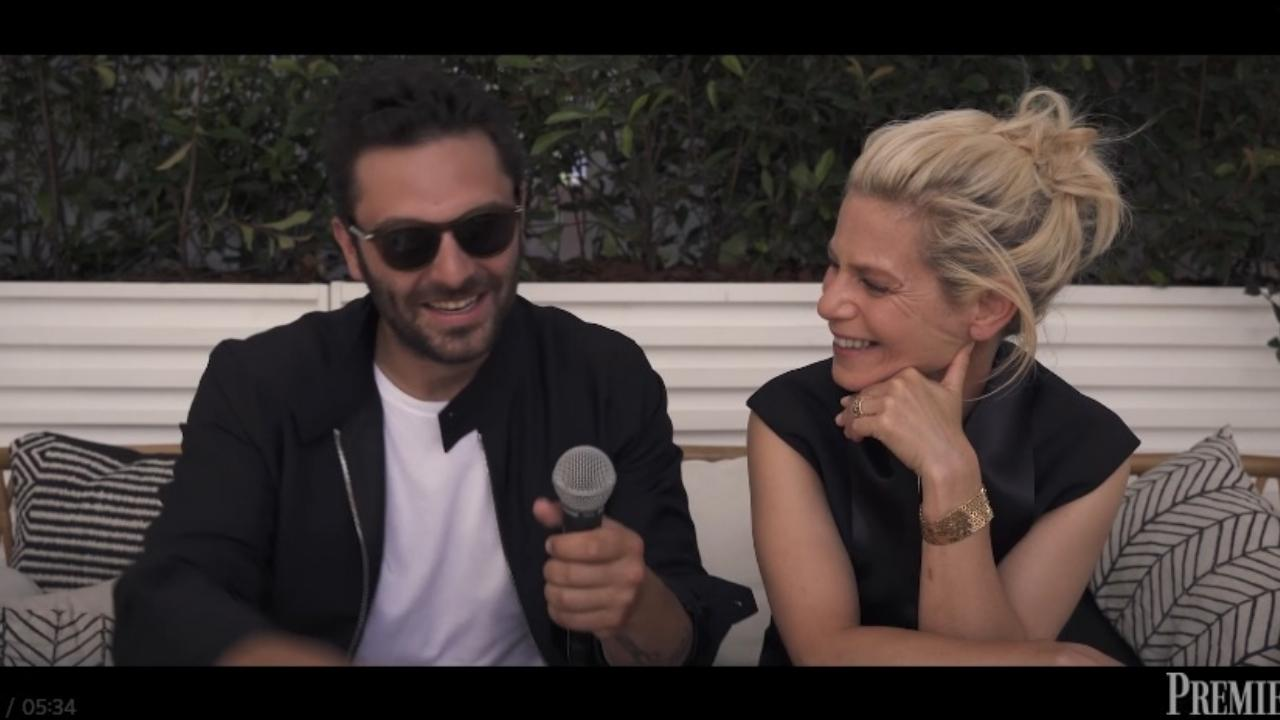 """Marina Foïs and Pio Marmaï: """"Filming the collapse is a real challenge!"""""""