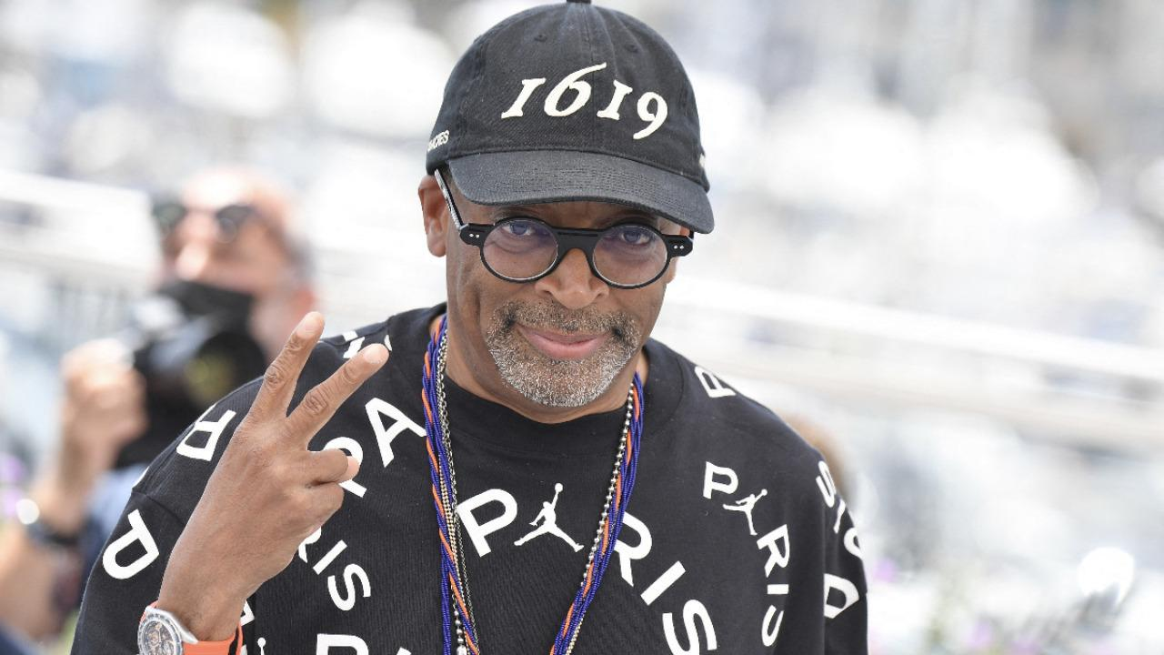 Spike Lee was the star of the jury photocall!