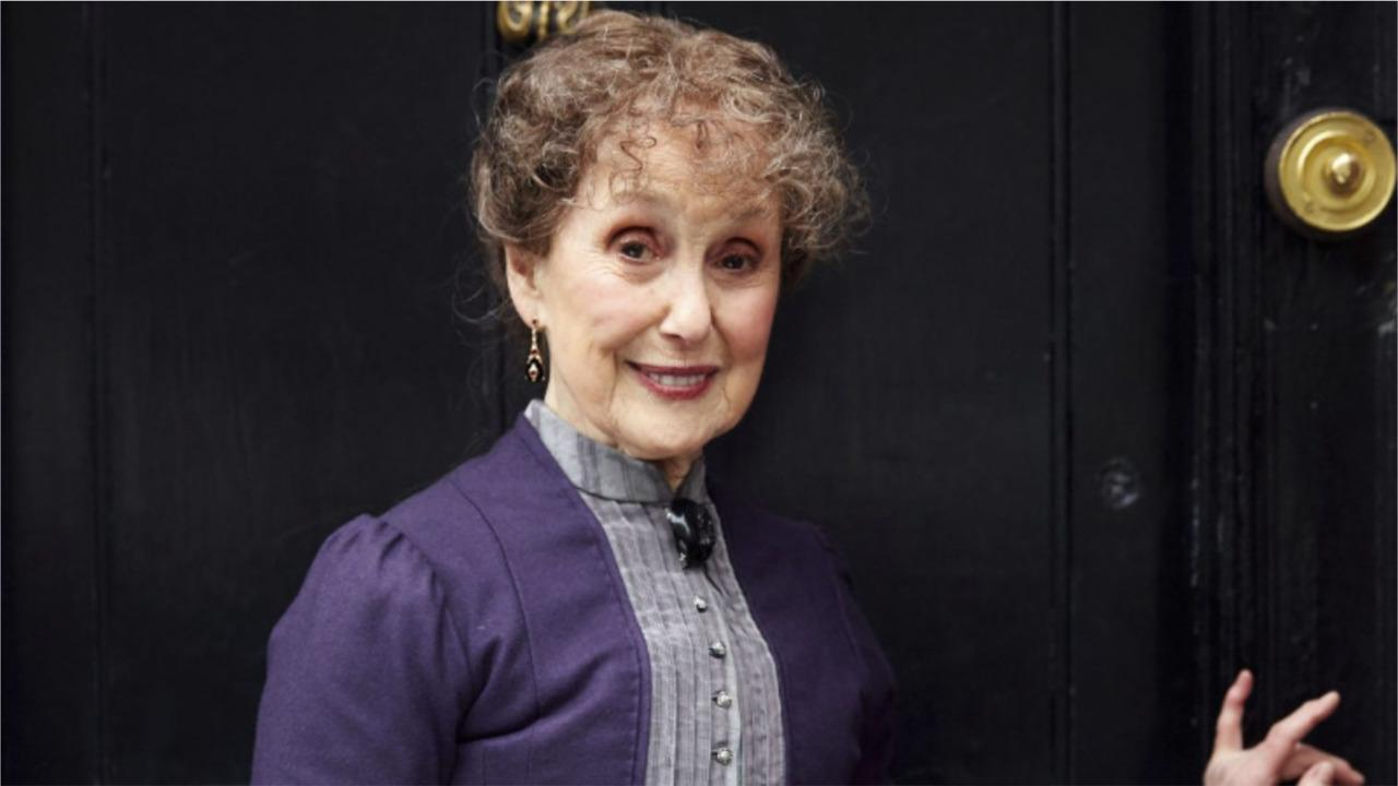 Sherlock creator pays homage to Una Stubbs