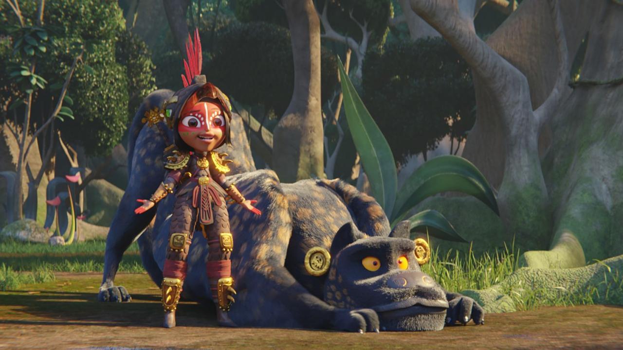 Maya Warrior Princess