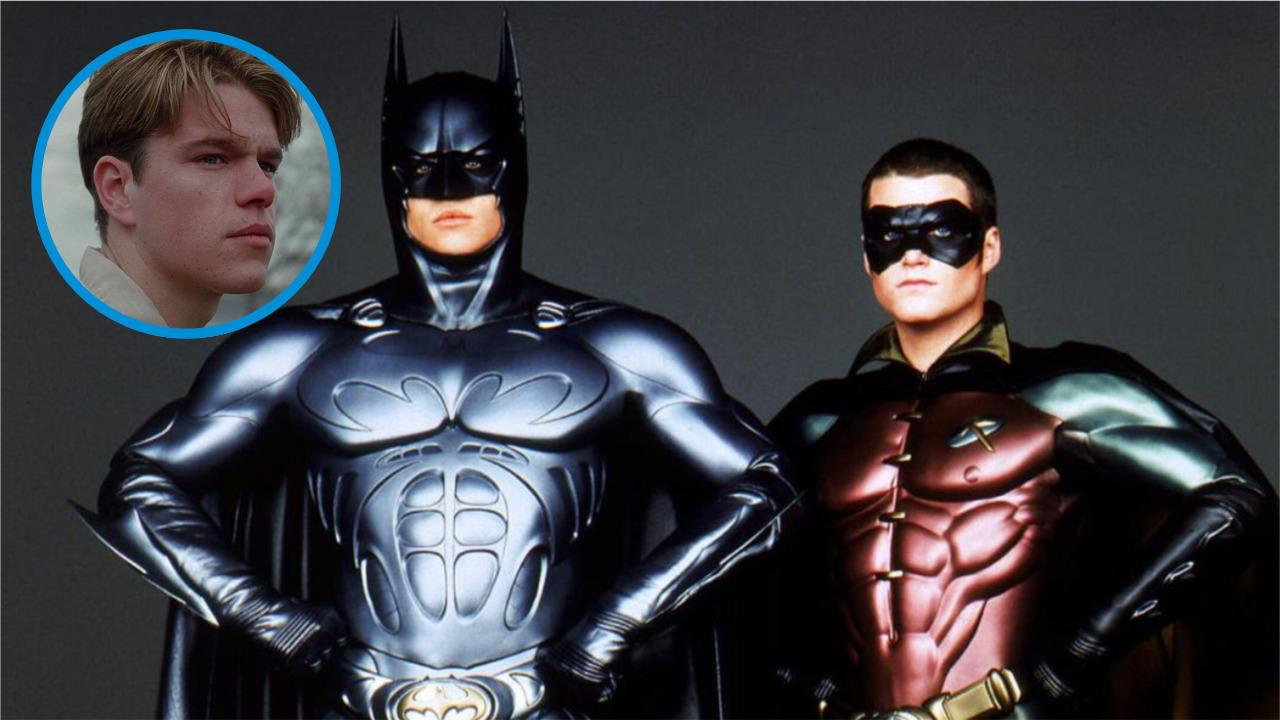 Matt Damon auditioned twice for the role of Robin