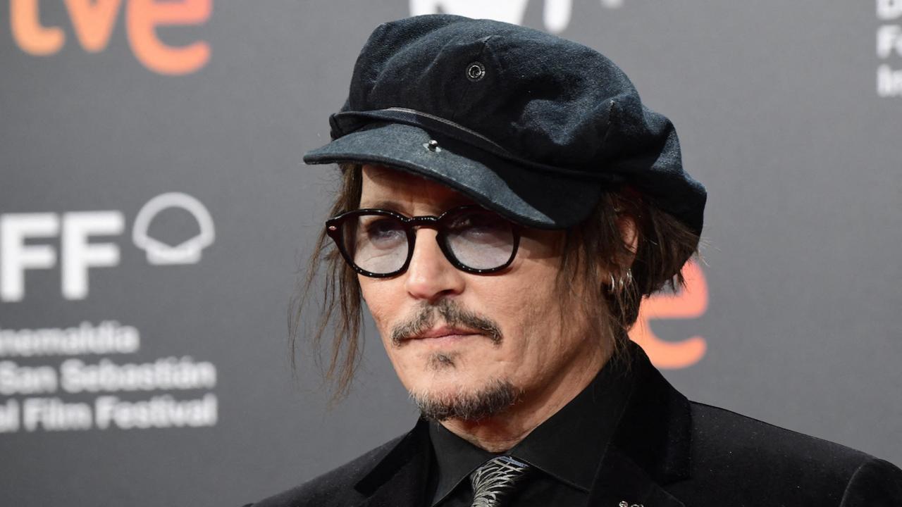 Johnny Depp at the 69th San Sebastian Festival