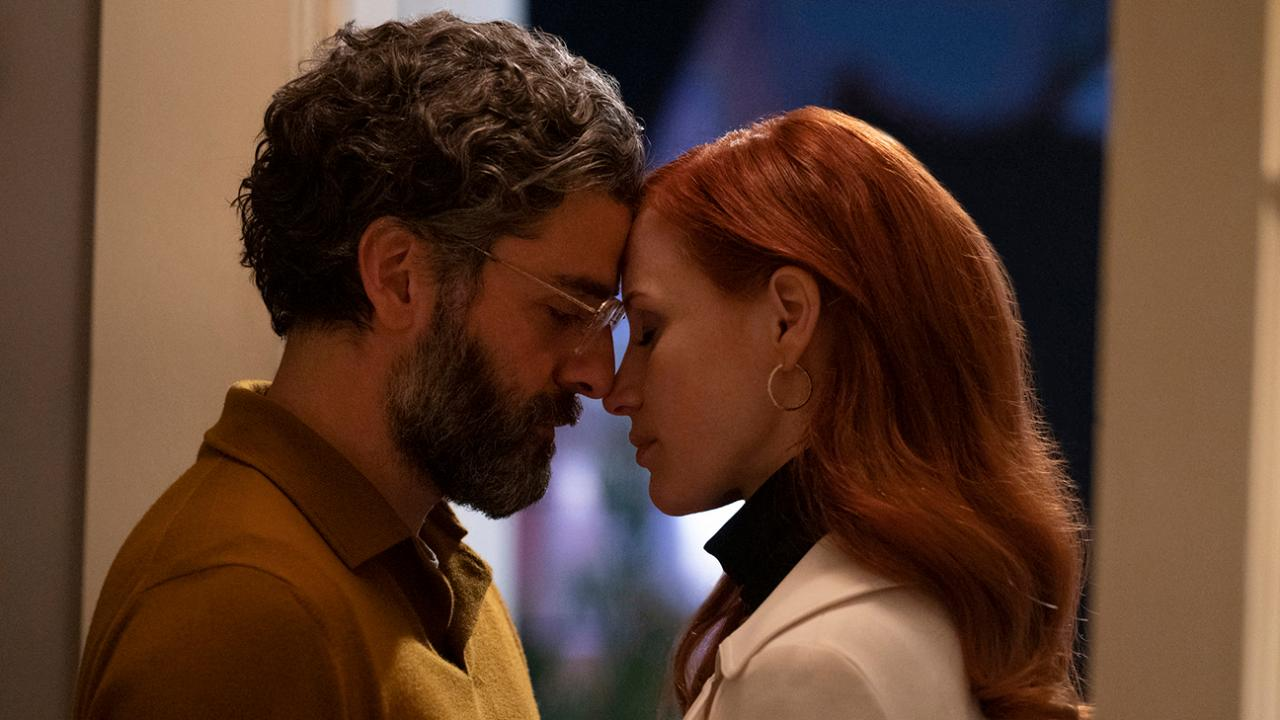 Scenes from married life Jessica Chastain Oscar Isaac