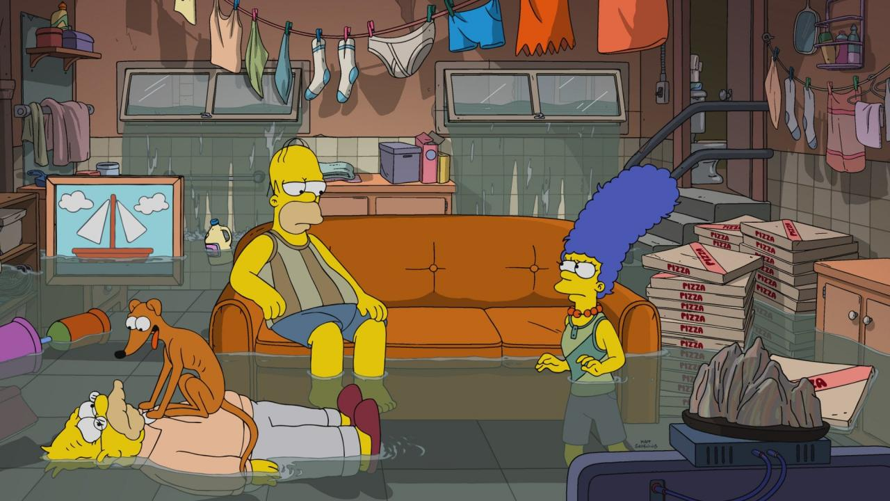 The Simpsons in Parasite Mode