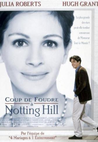 En 1999 julia roberts pr sentait coup de foudre notting - Coup de foudre sur la glace ...