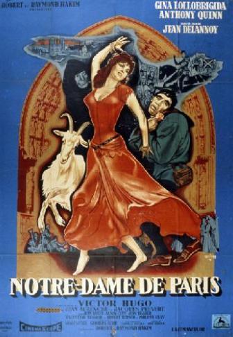 Notre-Dame de Paris (1956), un film de Jean Delannoy