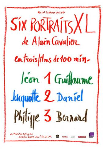 Six portraits XL affiche