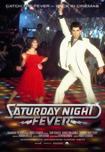 Saturday night fever affiche