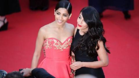 PHOTOS - Cannes 2014   Leila Bekhti   trop scandaleuse pour le Festival   fa1ec7c0beba