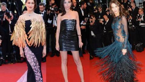 PHOTOS , Cannes 2013  Laetitia, Elodie, Frédérique et le TOP 5 des pires  robes !