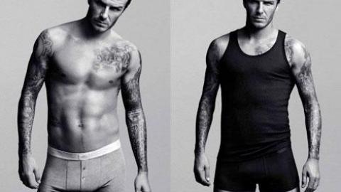 Photos David Beckham Tous Muscles Et Tatouages Dehors Pour Sa