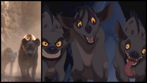 Le roi lion 1994 vs 2019 les nouveaux looks de simba - Le roi lion les hyenes ...