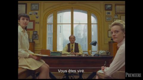 The French Dispatch : Bill Murray et Elisabeth Moss