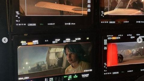 """Ever Anderson shares behind-the-scenes photos of Black Widow: """"She almost had to destroy them when she was caught by security, but thank goodness she managed to parley"""""""