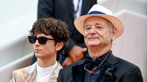 Cannes 2021: Bill Murray and Timothée Chalamet