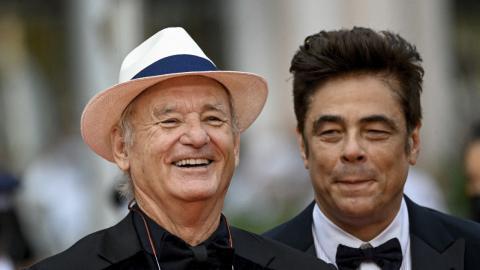 Cannes 2021: Bill Murray and Benicio Del Toro have a blast