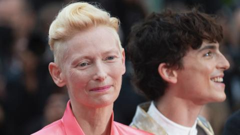 Cannes 2021: Tilda Swinton and Timothée Chalamet climb the steps for The French Dispatch
