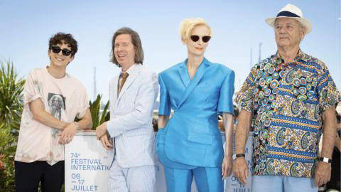 Cannes 2021: Timothée Chalamet, Wes Anderson, Tilda Swinton and Bill Murray at The French Dispatch photocall