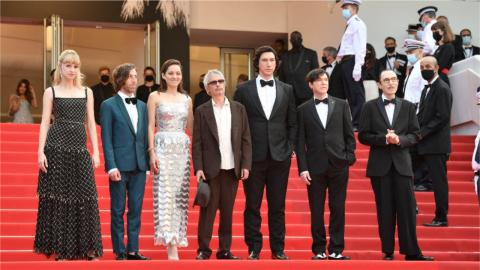 The opening night of the 2021 Cannes film festival: The team of the opening film Annette