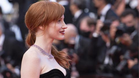 The opening night of the 2021 Cannes film festival: Jessica Chastain