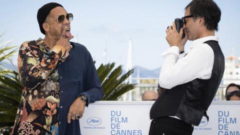 Cannes 2021: JoeyStarr photographed by Samuel Benchetrit