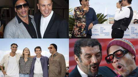 JoeyStarr has fun in Cannes, for Samuel Benchetrit and the NTM biopic
