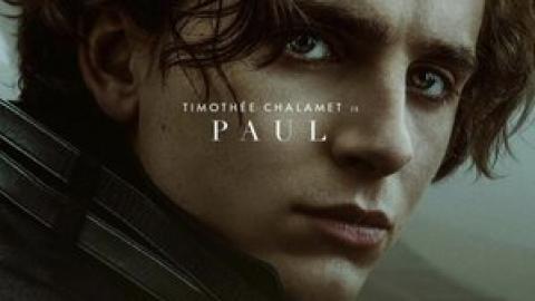 Dune: Timothée Chalamet is Paul