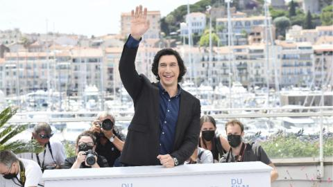 Adam Driver at Annette's photocall