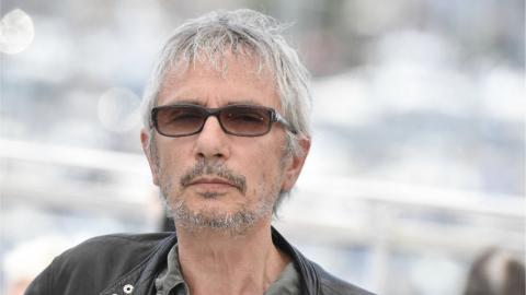 Leos Carax at the Annette photocall