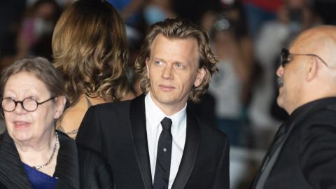 Cannes 2021: Françoise Lebrun, Alex Lutz and Gaspar Noé on the red carpet of Vortex