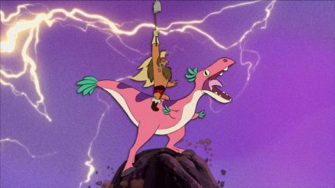 Short Circuit: Dinosaur Barbarian