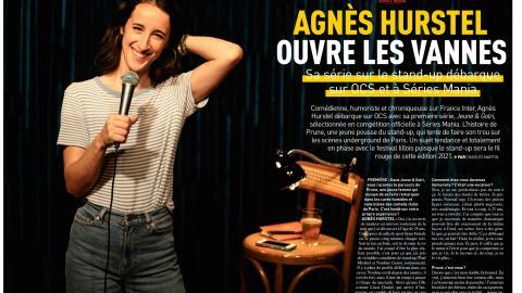 Premiere n ° 521: Meeting with Agnès Hurstel (Jeune & Golri)