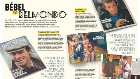 Premiere n ° 522: Bébel seen by Belmondo