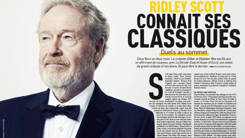 Premiere n ° 522: Portrait of Ridley Scott