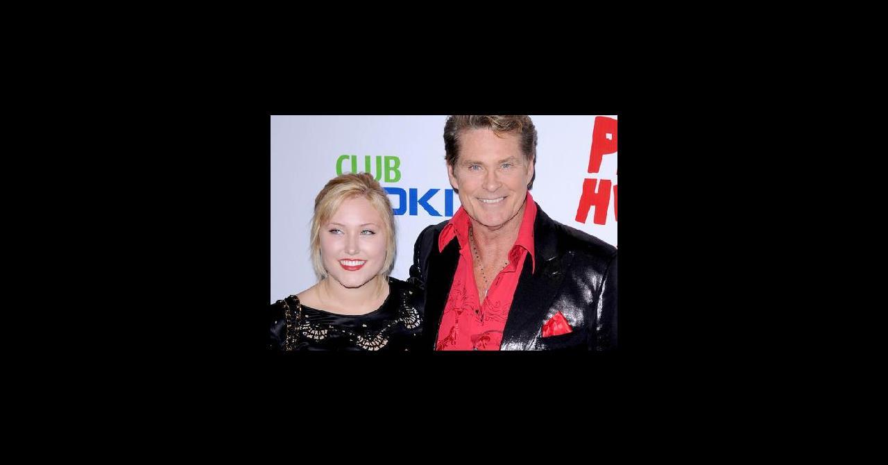 932320c109f PHOTOS - David Hasselhoff et sa fille Hayley   alerte rouge sur ...