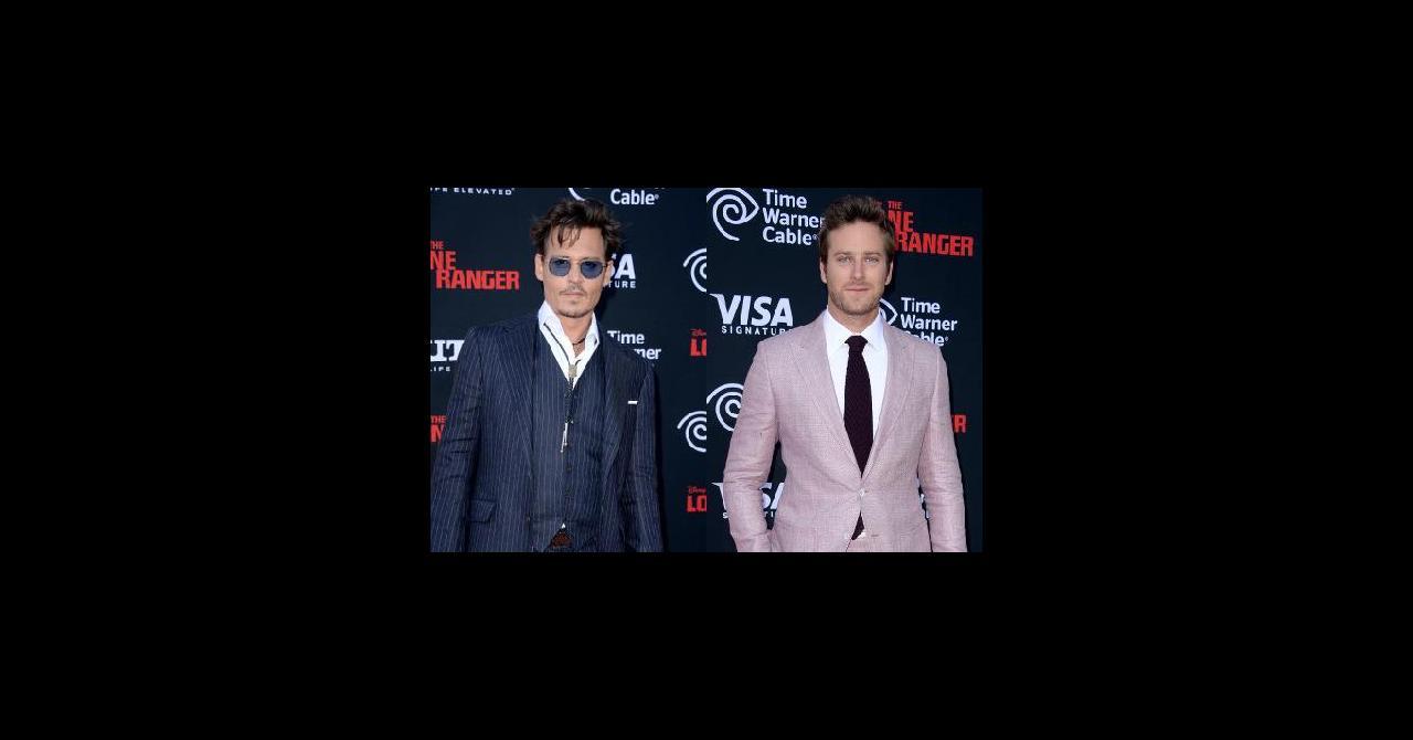 PHOTOS Johnny Depp et Armie Hammer, très chics à la