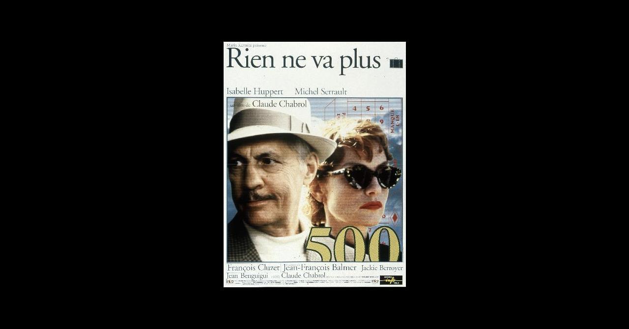 Rien ne va plus (1997), un film de Claude Chabrol