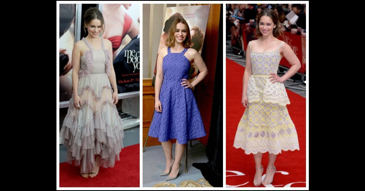 Emilia Clarke Defile De Mode Pour La Promo D Avant Toi Premiere Fr