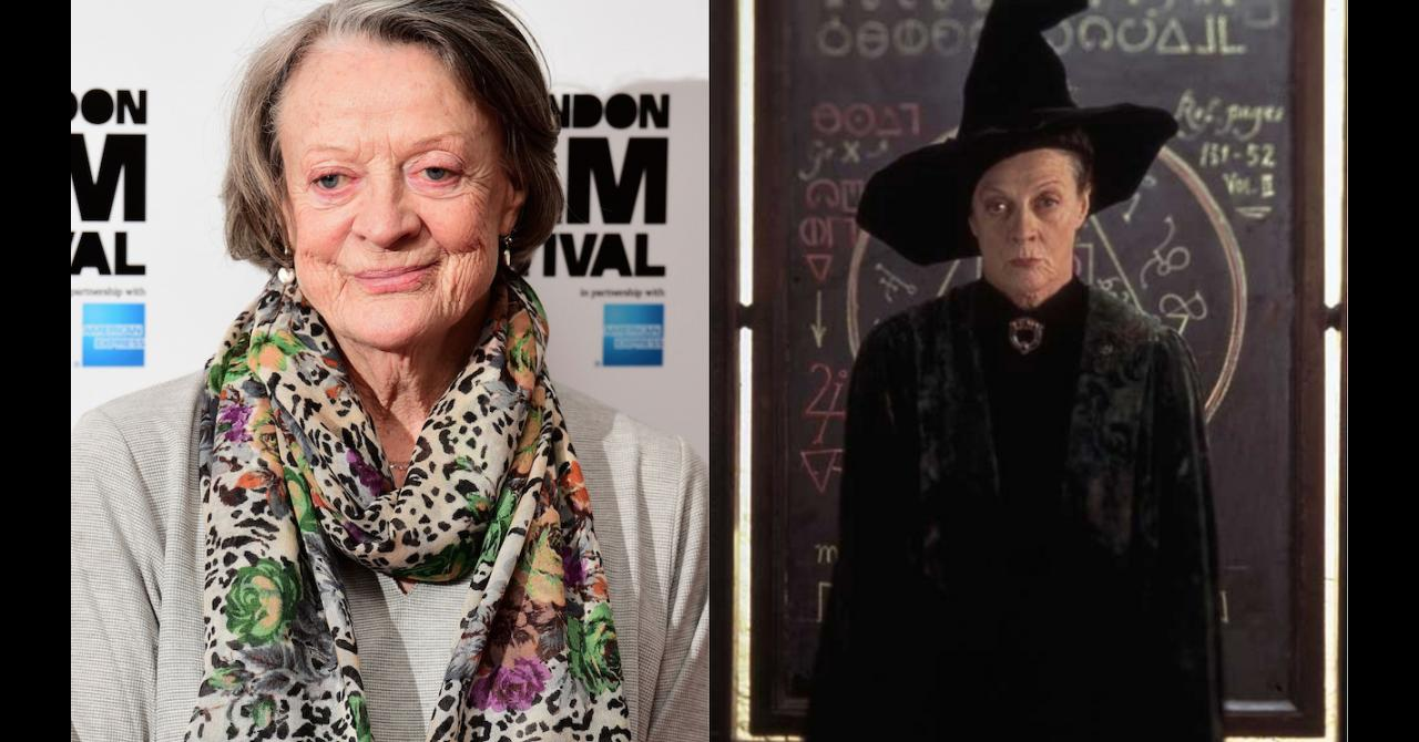 Maggie Smith Minerva McGonagall