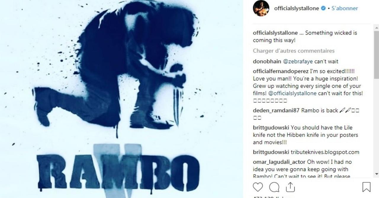 Rambo 5 : Last Blood sortira avant la fin de l'année