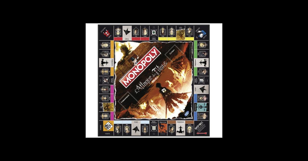 Un Monopoly L'Attaque des titans Monop