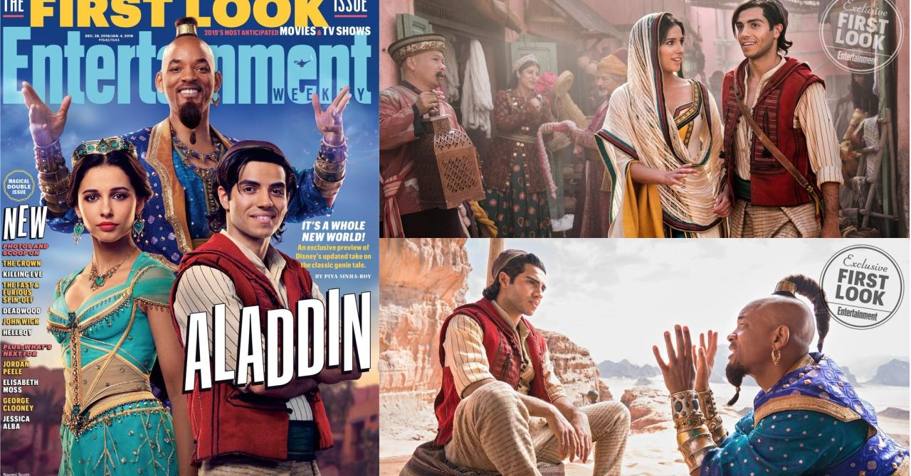 Aladdin Premieres Images De Will Smith En Genie Humain Premiere Fr